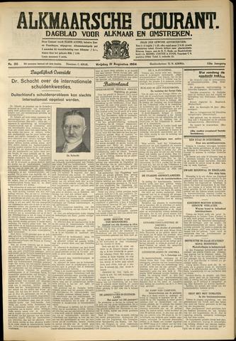 Alkmaarsche Courant 1934-08-31