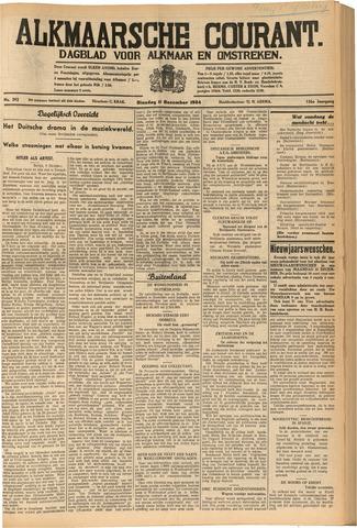 Alkmaarsche Courant 1934-12-11