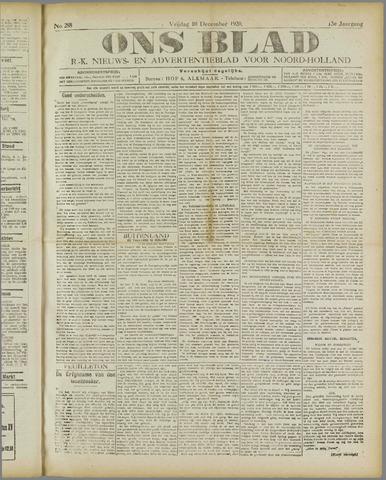 Ons Blad : katholiek nieuwsblad voor N-H 1920-12-10