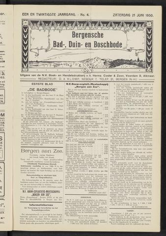 Bergensche bad-, duin- en boschbode 1930-06-21