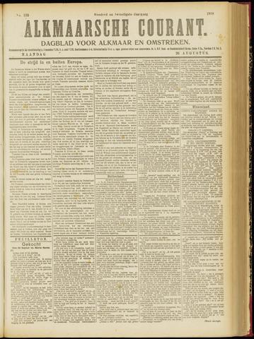 Alkmaarsche Courant 1918-08-26