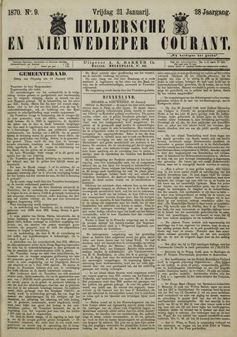 Heldersche en Nieuwedieper Courant 1870-01-21
