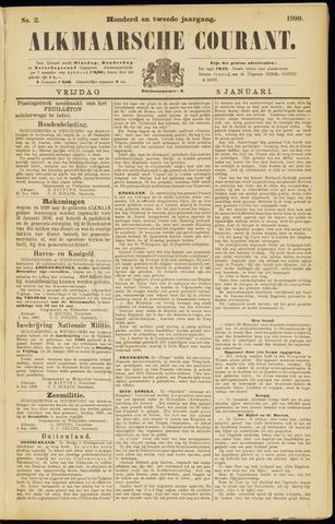 Alkmaarsche Courant 1900-01-05