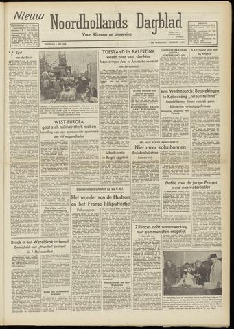 Nieuw Noordhollandsch Dagblad : voor Alkmaar en omgeving 1948-05-01