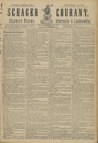 Schager Courant 1911-09-06