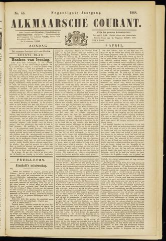 Alkmaarsche Courant 1888-04-08