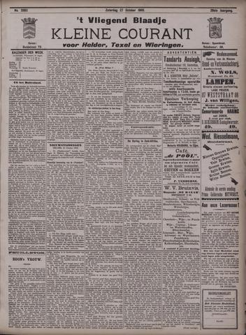 Vliegend blaadje : nieuws- en advertentiebode voor Den Helder 1900-10-27