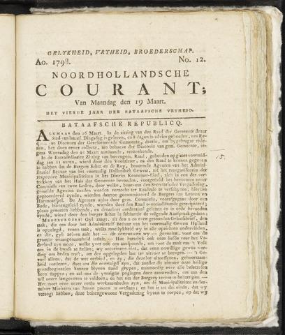 Noordhollandsche Courant 1798-03-19
