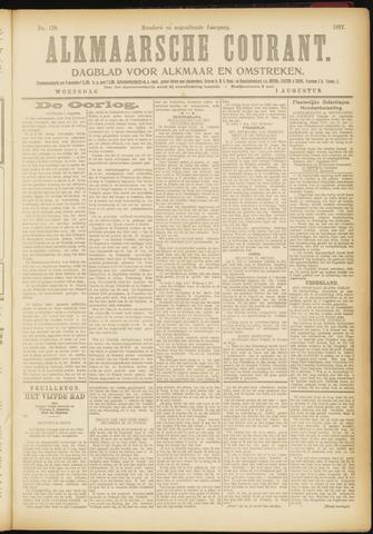 Alkmaarsche Courant 1917-08-01