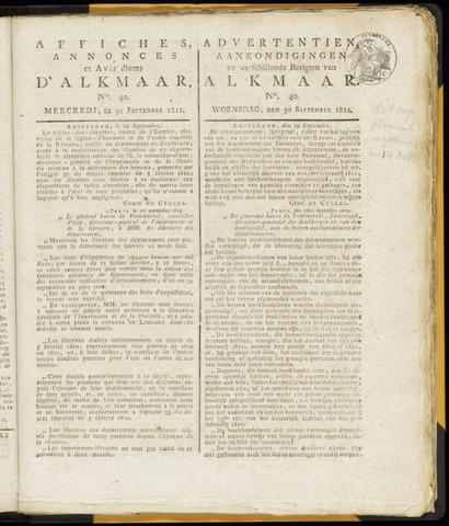 Alkmaarsche Courant 1812-09-30