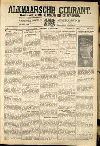 Alkmaarsche Courant 1937-01-28