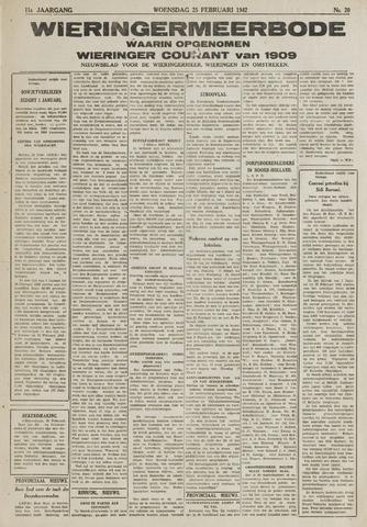 Wieringermeerbode 1942-02-25