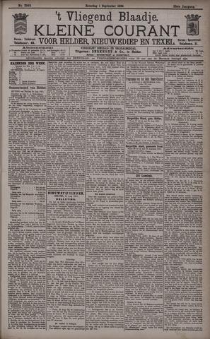 Vliegend blaadje : nieuws- en advertentiebode voor Den Helder 1894-09-01