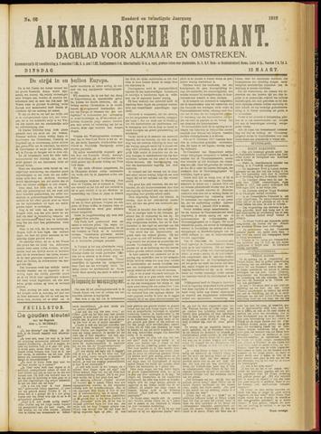 Alkmaarsche Courant 1918-03-12