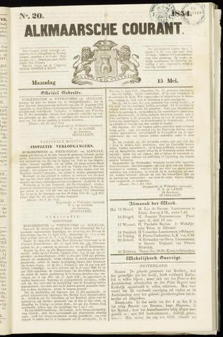 Alkmaarsche Courant 1854-05-15