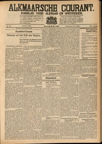 Alkmaarsche Courant 1934-05-28