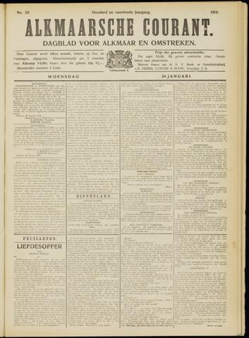 Alkmaarsche Courant 1912-01-24