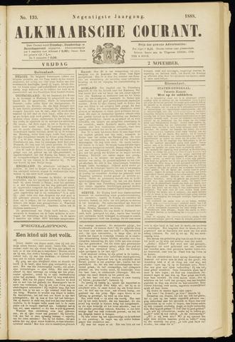 Alkmaarsche Courant 1888-11-02