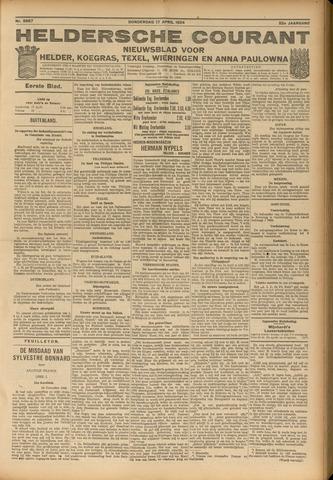 Heldersche Courant 1924-04-17