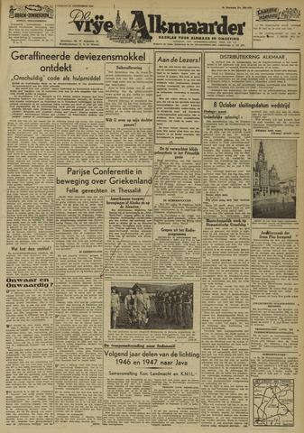 De Vrije Alkmaarder 1946-09-27