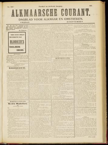 Alkmaarsche Courant 1911-09-22
