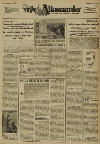 De Vrije Alkmaarder 1947-07-11