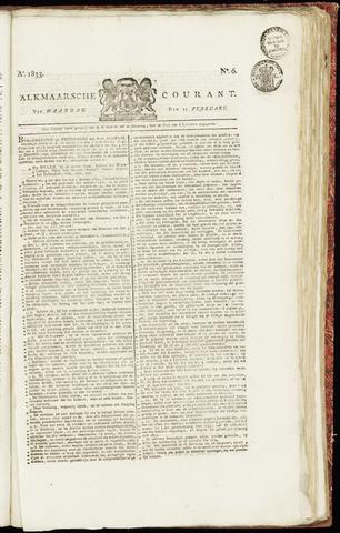 Alkmaarsche Courant 1833-02-11