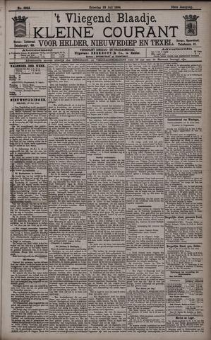 Vliegend blaadje : nieuws- en advertentiebode voor Den Helder 1894-07-28