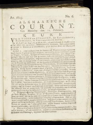 Alkmaarsche Courant 1805-02-11