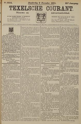 Texelsche Courant 1911-11-02