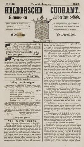 Heldersche Courant 1872-12-25