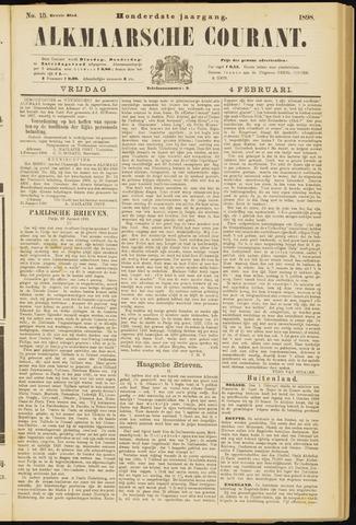 Alkmaarsche Courant 1898-02-04