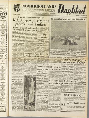 Noordhollands Dagblad : dagblad voor Alkmaar en omgeving 1958-09-23