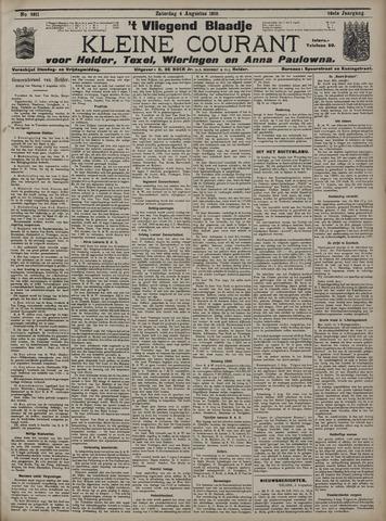 Vliegend blaadje : nieuws- en advertentiebode voor Den Helder 1910-08-06