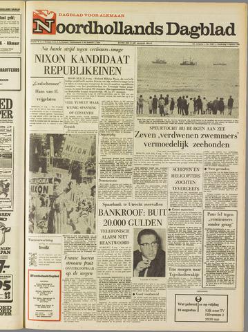 Noordhollands Dagblad : dagblad voor Alkmaar en omgeving 1968-08-08
