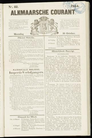 Alkmaarsche Courant 1854-10-16