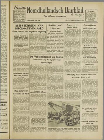 Nieuw Noordhollandsch Dagblad : voor Alkmaar en omgeving 1946-06-25