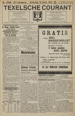 Texelsche Courant 1931-09-19