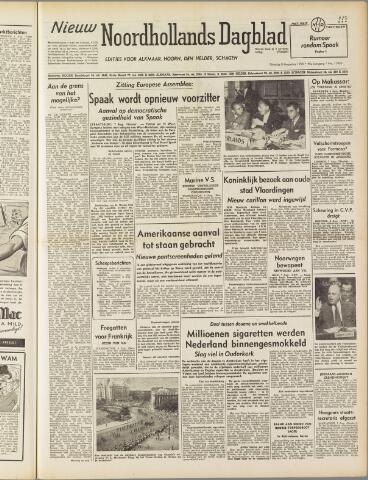 Nieuw Noordhollandsch Dagblad : voor Alkmaar en omgeving 1950-08-08