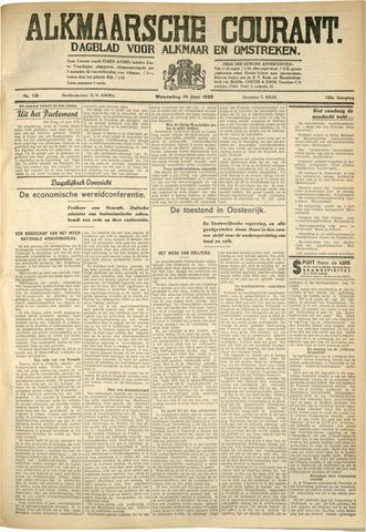 Alkmaarsche Courant 1933-06-14