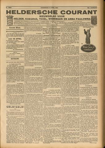 Heldersche Courant 1924-04-10