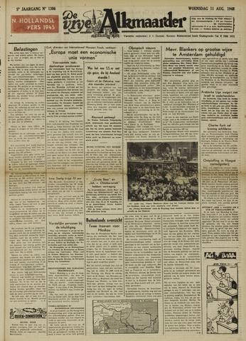 De Vrije Alkmaarder 1948-08-11