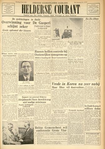 Heldersche Courant 1953-06-09