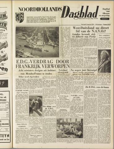Noordhollands Dagblad : dagblad voor Alkmaar en omgeving 1954-08-31
