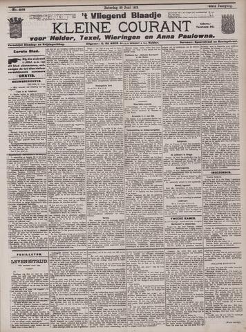 Vliegend blaadje : nieuws- en advertentiebode voor Den Helder 1912-06-22