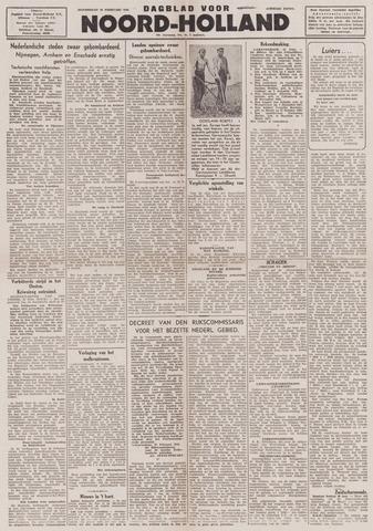 Dagblad Noord-Holland, Schager editie 1944-02-24