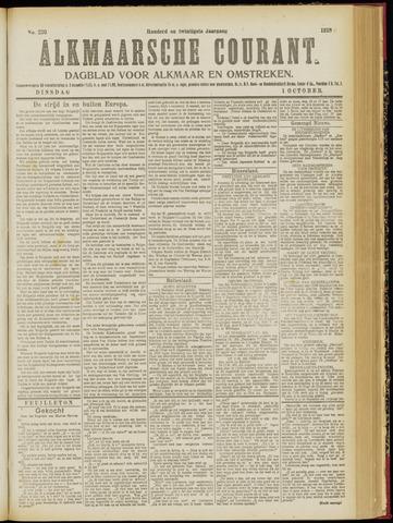 Alkmaarsche Courant 1918-10-01