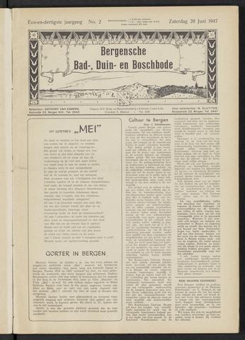 Bergensche bad-, duin- en boschbode 1947-06-28