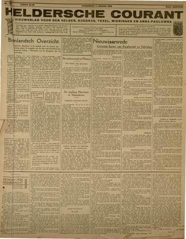 Heldersche Courant 1935-01-03