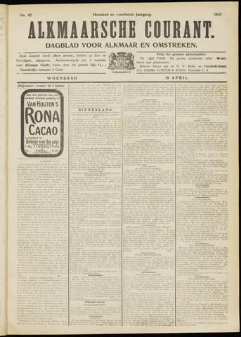 Alkmaarsche Courant 1912-04-10